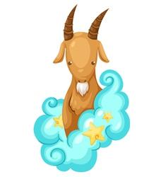 Zodiac signs -Capricorn vector