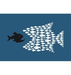 Abstract fish4 vector image vector image