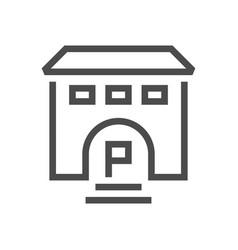 Business training school icon vector
