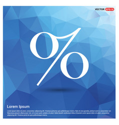 Labels percent price icon vector
