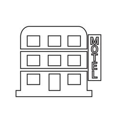 Motel icon design vector