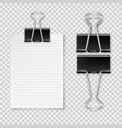 Realistic blank paper sheet with shadow in a4 vector