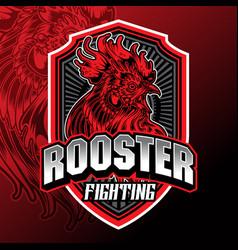 Rooster fighting thailand chicken 6 vector