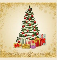 festive invitation vector image vector image