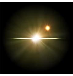 supernova star vector image