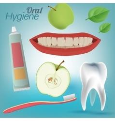 Oral Hygiene Image vector image