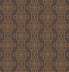 background - seamless distortion from flower vector image vector image