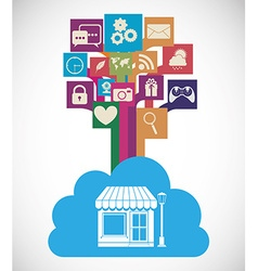 apps store vector image