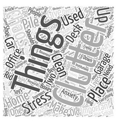 Clutter and Chaos two things that can give you vector
