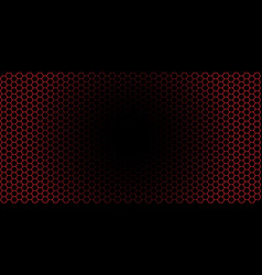gradient honeycomb background banner isolated vector image