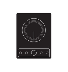 Induction cooker vector