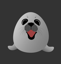 little seal vector image