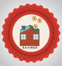 Savings design vector