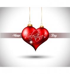 valentines flyer vector image