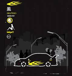 Boy racer vector