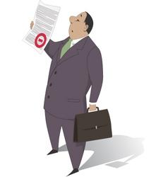 Bureaucracy vector image vector image