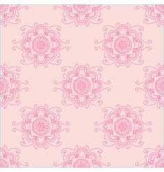 Abstract seamless with floral ornament vector image vector image