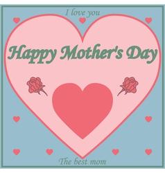mom4 vector image vector image