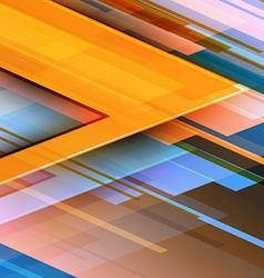 Abstract Colorful Background Futuristic Technology vector