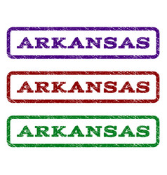 Arkansas watermark stamp vector