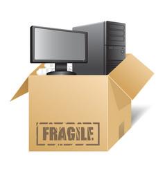 box 03 vector image