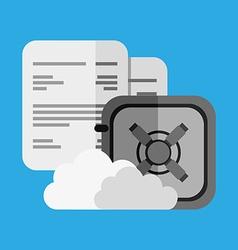 Business security design vector