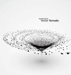Tornado particle effects vector