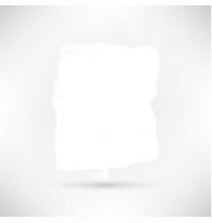 white grunge banner vector image