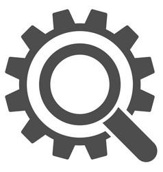search options gear icon vector image vector image