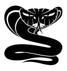 cobra snake sign vector image