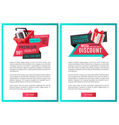 Fixed price only one day offer web page templates vector
