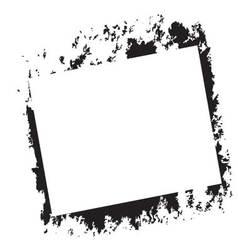 Frame grunge stamp vector image