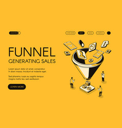 Funnel generating sales vector