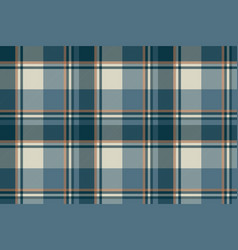 gray blue check plaid seamless pattern vector image