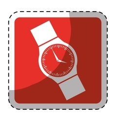 Hand watch icon image vector