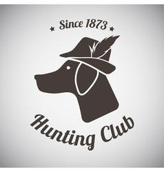 Hunting Emblem vector