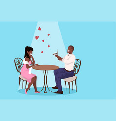 man holding engagement ring proposing to surprised vector image