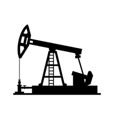 Pump Jack icon vector