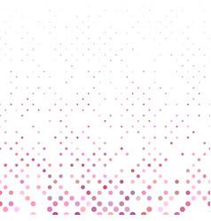 repeating circle pattern - snowfall background vector image
