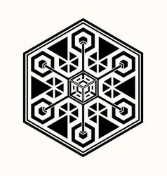 Sacred geometry 0070 vector