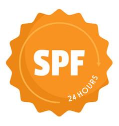 Spf logo flat style vector