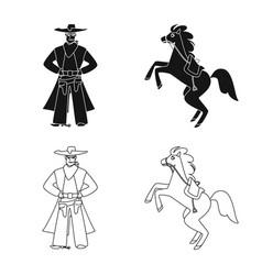 Texas and history symbol vector
