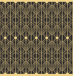art deco seamless vector image vector image
