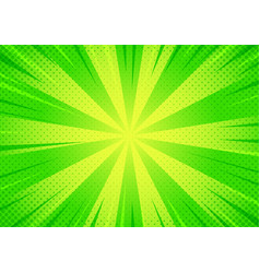 0003 abstract green comic cartoon style halftone vector