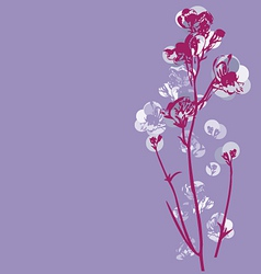 Cherry blossom graphic vector