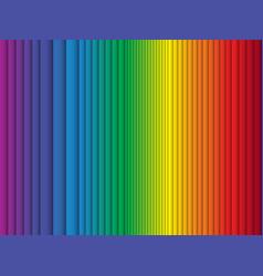 color rainbow stripes background curtain vector image