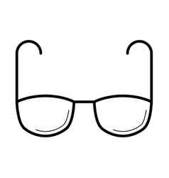 eyeglasses for vision correction icon vector image