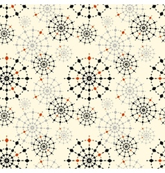 Seamless abstract pattern for a fabric papers ti vector image