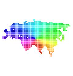 Spectral pixel eurasia map vector
