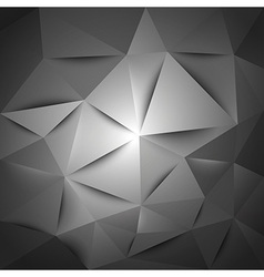 Triangles gray vector